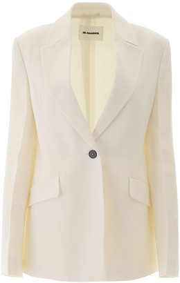 Jil Sander Classic Single Breasted Blazer
