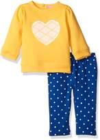 Isaac Mizrahi Girls' 2pc Fleece Top and Legging Set