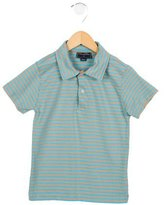 Oscar de la Renta Girls' Striped Polo Top