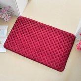 ZHANG KJASL High-end bathroom water-absorbing mat/oot Pad/Toilet door mat/loor mat/Coral suede mat