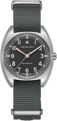 Hamilton Khaki Aviator Pilot Pioneer NATO Strap Watch, 36mm x 33mm