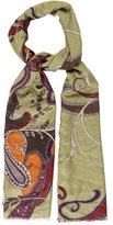 Etro Cashmere & Silk-Blend Paisley Scarf