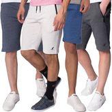 Kangol Designer Pelter New Mens Elasticated Zip Up Pockets Jogger Sweat Shorts