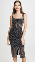 Dion Lee Vein Lace Corset Dress