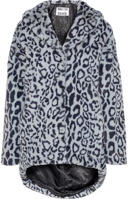 Walter Baker Coleman Leopard-print Faux Fur Coat