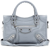 Balenciaga Classic Metallic Edge Mini City Leather Shoulder Bag