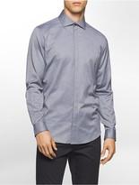 Calvin Klein Classic Fit Stripe Jacquard Shirt