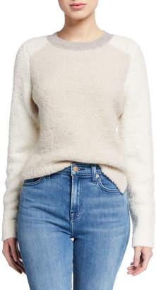 Rag & Bone Davis Colorblock Crewneck Wool Sweater