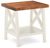 Nobrand No Brand Larkspur Side Table - Off White