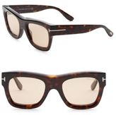 Tom Ford Wagner Square 52mm Sunglasses