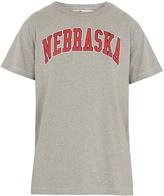 Off-White Nebraska-print cotton-blend T-shirt