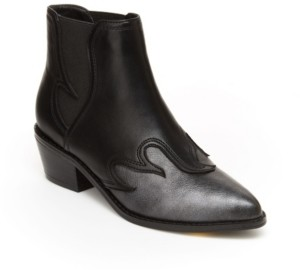BCBGMAXAZRIA Little & Big Girls Lisa Cowboy Bootie