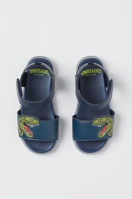 H&M Light-up Sandals - Blue