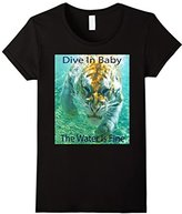Men's Dive In Baby - Swimming Tiger XL