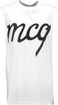 McQ by Alexander McQueen Appliquéd cotton top