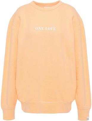Rag & Bone Printed French Cotton-terry Sweatshirt