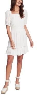 1 STATE Crinkle Eyelet Dress