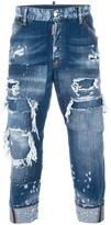 DSQUARED2 Work Wear distressed jeans
