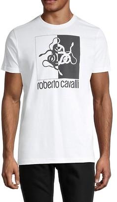 Roberto Cavalli Graphics Cotton Tee
