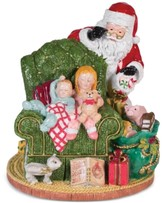 Fitz & Floyd Waiting for Santa Musical Collectible Figurine
