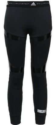 adidas by Stella McCartney Paneled Stretch-jersey Leggings