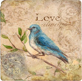 Thirstystone Love Songbird 8 Travertine Trivet