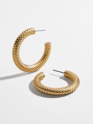 BaubleBar Sphinx Hoop Earrings