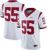 Nike Men's #55 White USC Trojans Game Jersey