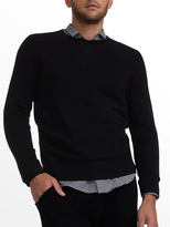 White + Warren Mens Cashmere Crewneck