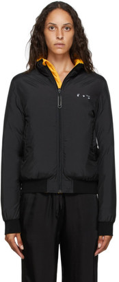 Off-White Reversible Black Down Arrow Jacket