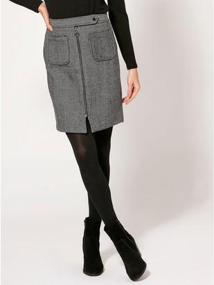 M&Co Vero Moda herringbone skirt