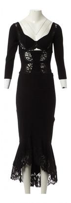 Agent Provocateur Black Viscose Dresses