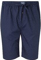 Polo Ralph Lauren Woven Cotton Polka Dot Lounge Shorts, Navy