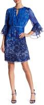 T Tahari Amber Floral Print Dress