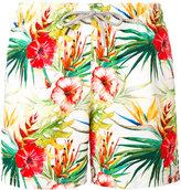 MC2 Saint Barth floral print swim shorts - men - Polyester/Polyamide/Spandex/Elastane - M