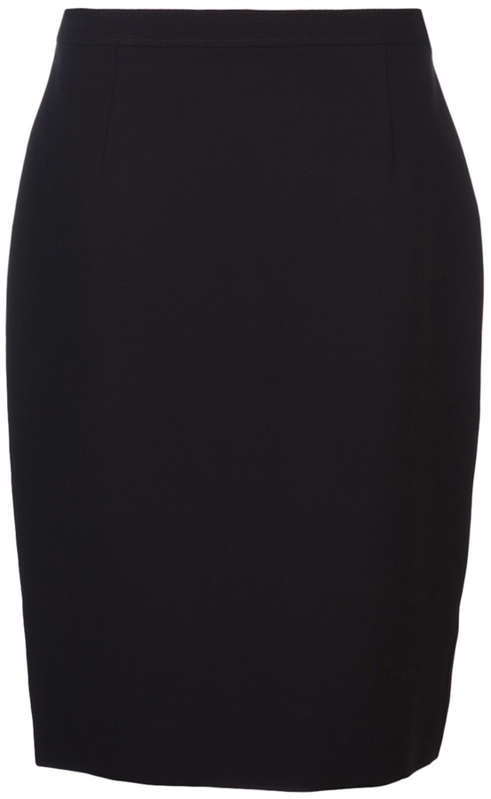 Valentino fitted pencil skirt