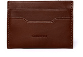 Sandqvist Tan Leather Card Case