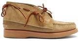 Yuketen - 8 Pig Tails Suede Chukka Boots - Mens - Khaki