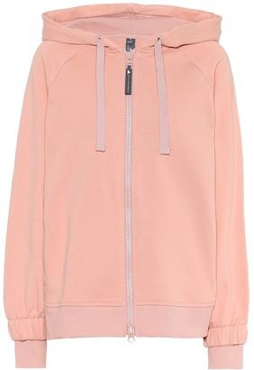 adidas by Stella McCartney Essentials cotton-blend hoodie