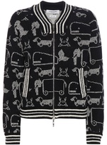 Thom Browne Printed Wool Cardigan
