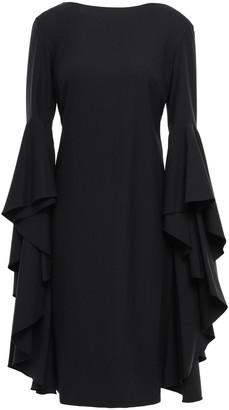 Osman Draped Crepe Dress