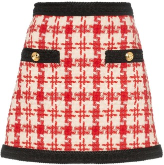 Gucci Tweed Mini Skirt