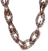 "Kenneth Jay Lane Kenneth Jay Lane's Fashion Oval Link 31-1/2"" Adj. Necklace"