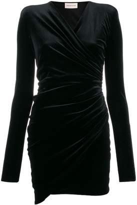 Alexandre Vauthier structured shoulder cocktail dress