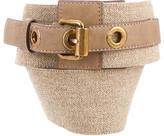 Stella McCartney Woven Waist Belt