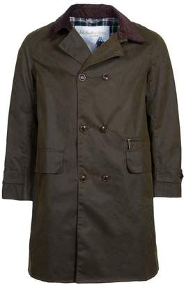 Barbour Icons Haydon Double-Breasted Waxed Cotton Jacket