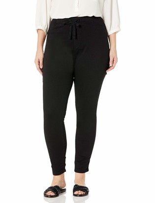Black Daisy Women's Plus Size Shay Pull-On Jegging