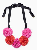 Kate Spade Fiesta floral statement necklace