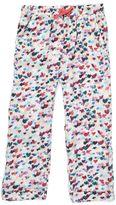 Jigsaw Girls Scattered Heart Print Trousers