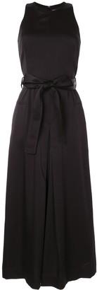 CK Calvin Klein Tie Waist Jumpsuit